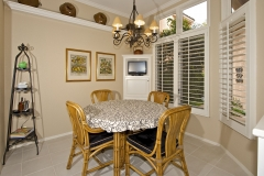 Breakfast nook in a Viola Plan I sold.