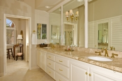 Upstairs master bathroom in a Viola Plan.