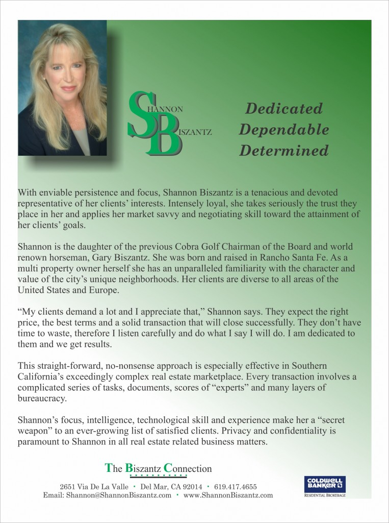 Shannon is Dedicated, Dependable and Determined