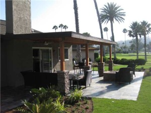 16211 Via Pacifica Single Story on Golf Course in Whispering Palms.